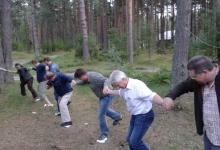 Latvijas Dabas fonda darbinieki